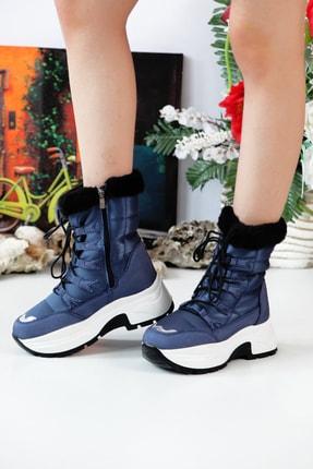 Twingo 7455 Kürklü Kadın Bot Ayakkabı
