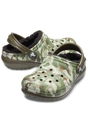 Crocs Kids Erkek Kahverengi Crocs Yünlü
