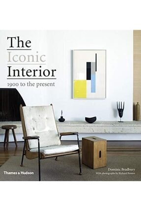 Thames & Hudson The Iconic Interior: 1900 To The Present Hardcover - Kitap