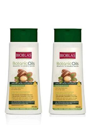Bioblas Botanic Oils Besleyici Ve Onarıcı Bakım Argan Şampuan Set 2 Adet X 300 Ml