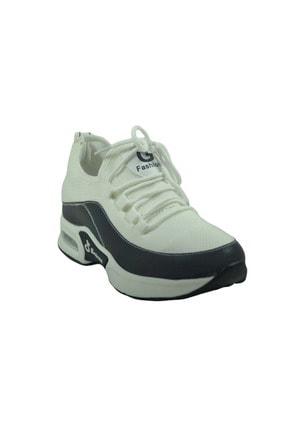 Guja Kadın Beyaz Mega Kalın Taban Sneakers Spor Ayakkabı