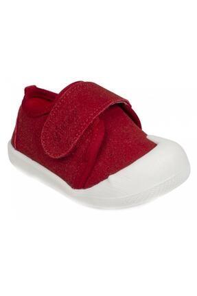 Vicco Unisex Kırmızı Bebek İlk Adım Ayakkabısı