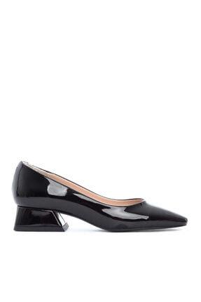 KEMAL TANCA Kadın Siyah Vegan Gova Ayakkabı