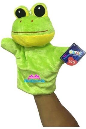 Vardem Kurbağa El Kuklası 25 Cm Peluş