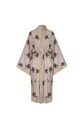 GRACE&KELLY Kadın Fleur Organic Kimono