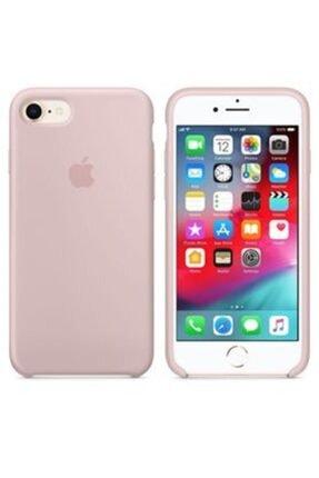 Apple Iphone 7/8 Silikon Kılıf Kumpembe
