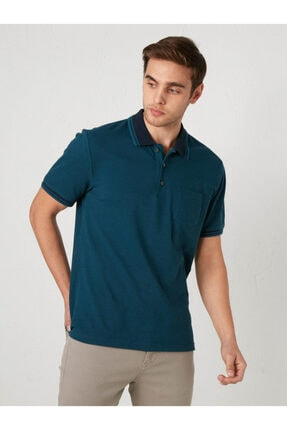 LC Waikiki Erkek Mavi Tişört