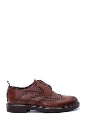 Derimod Erkek Kahverengi Deri Ayakkabı