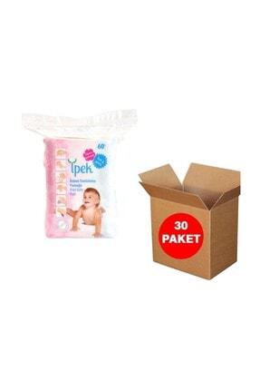 İpek Maxi Bebek Temizleme Pamuğu 60'lı 30paket