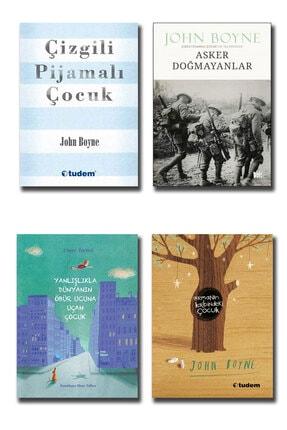 Tudem Yayınları Çizgili Pijamalı Çocuk  Asker Doğmayanlar  Ormanın Kalbindeki Çocuk John Boyne Seti 4 Kitap