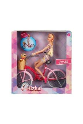 Sunman Alisha Bisikletli Bebek