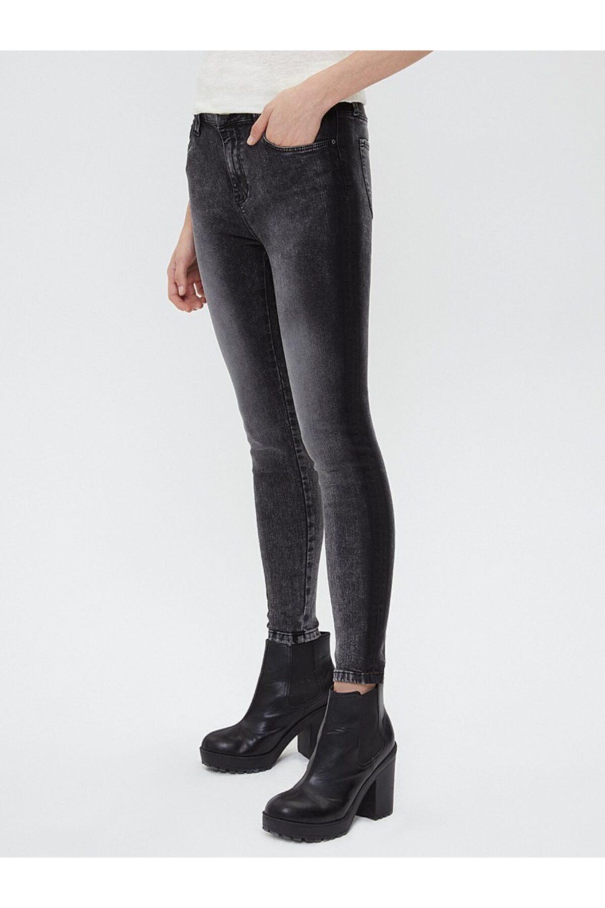 Loft Kadın Gri Pantolon 2025642 2