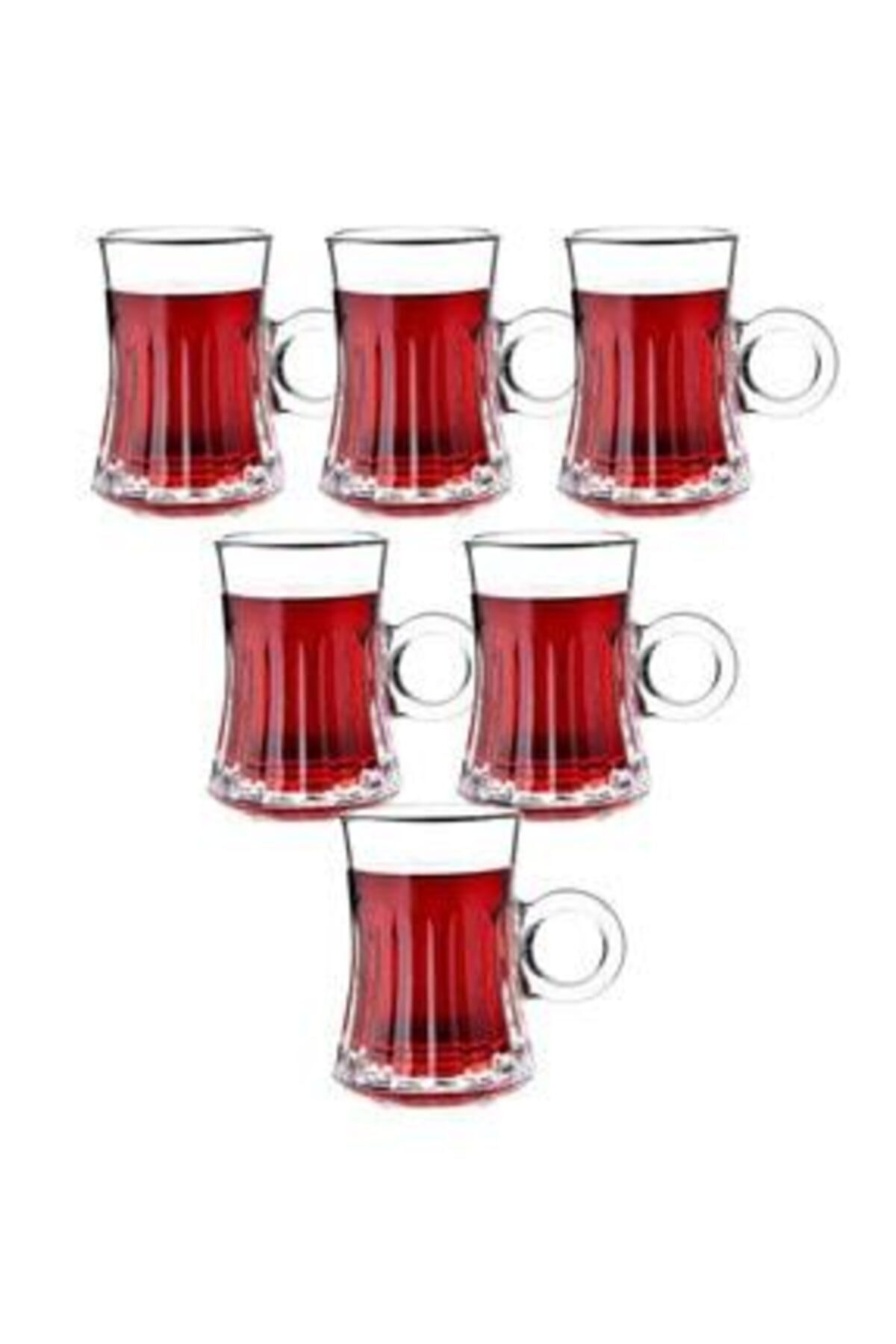 İnci Beyaz Çay Bardağı 2