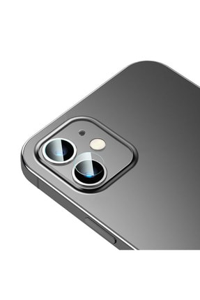 Baseus Iphone 12 Mini 5.4-iphone 6.1 Uyumlu Tempered Kamera Lens Koruma Camı 2set