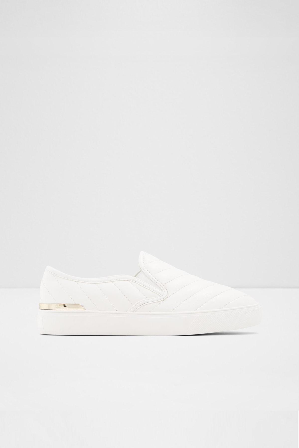 Aldo Kadın Beyaz Chevron Sneaker 1