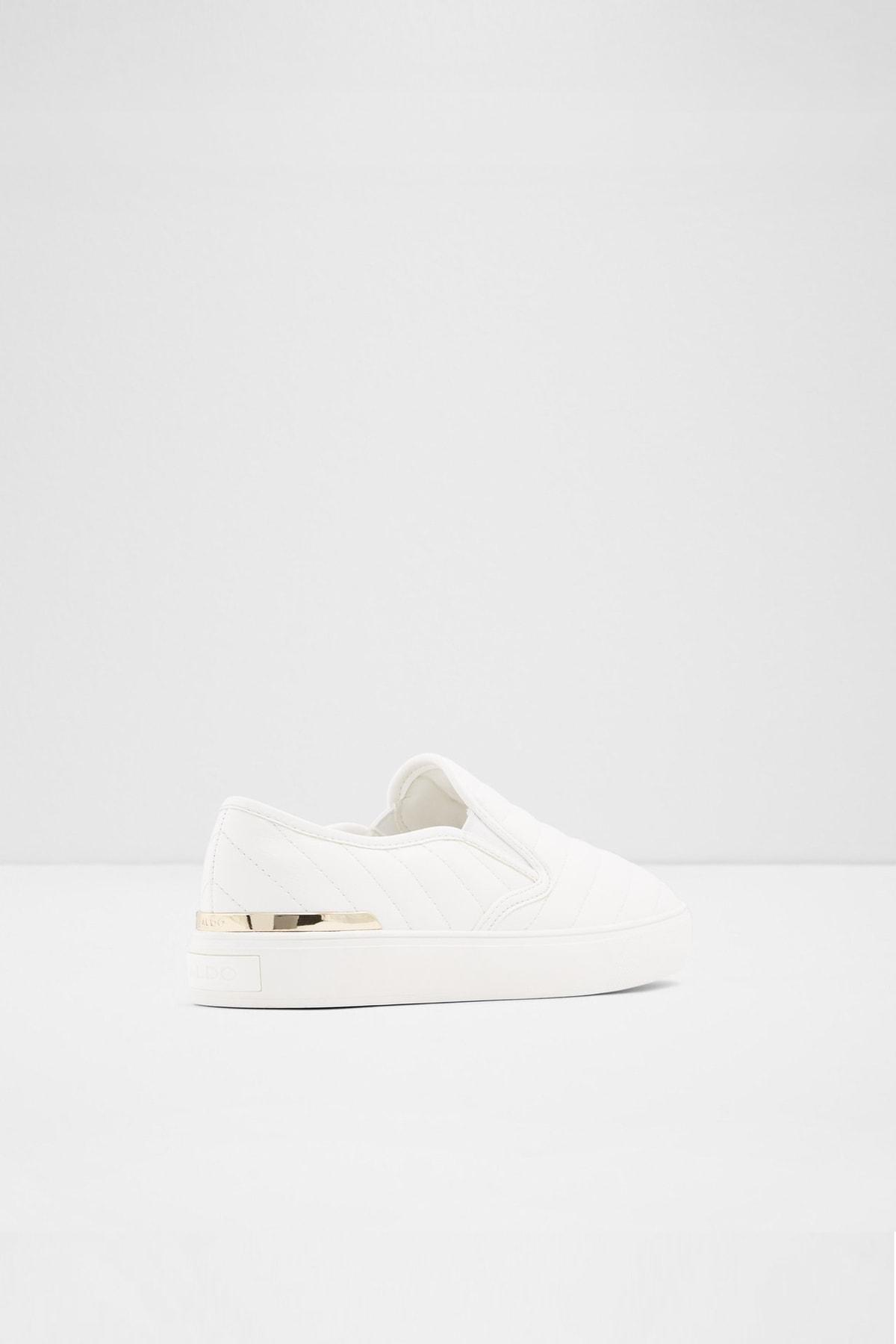 Aldo Kadın Beyaz Chevron Sneaker 2