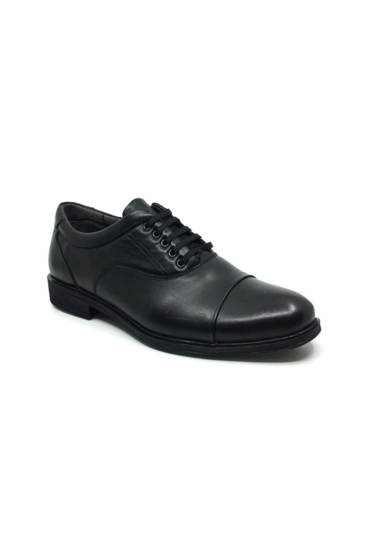 Taşpınar Erkek Siyah Kışlık Rahat Klasik Ayakkabı 1