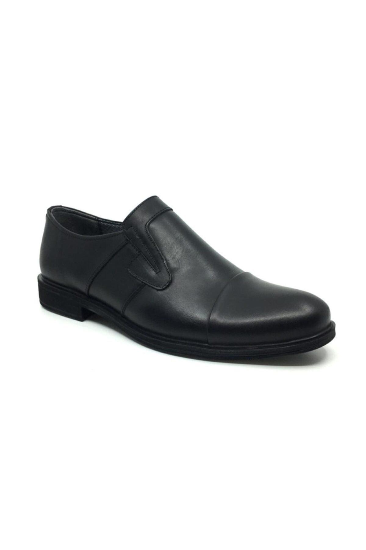Taşpınar Erkek Siyah Deri  Klasik Ayakkabı 1