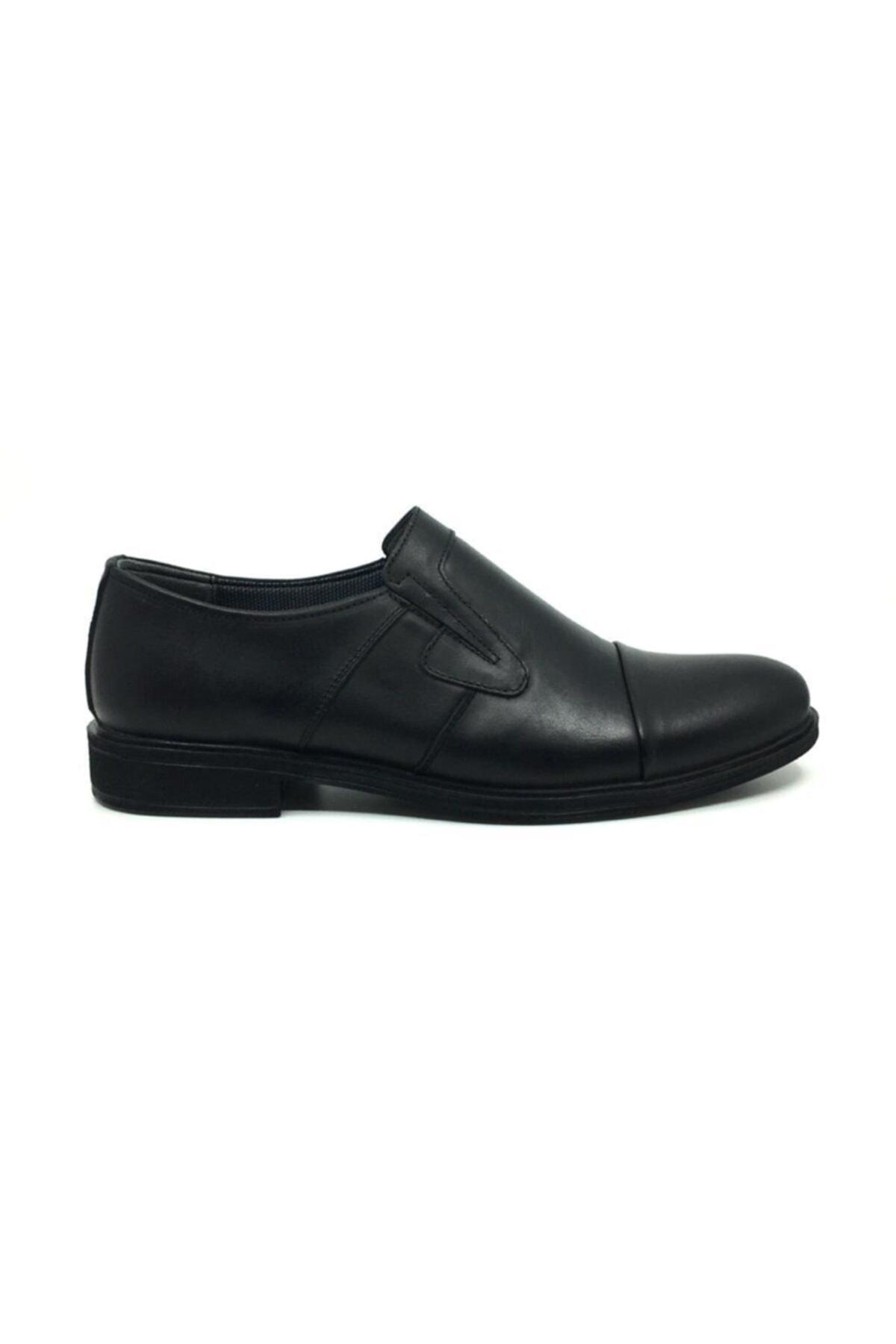 Taşpınar Erkek Siyah Deri  Klasik Ayakkabı 2