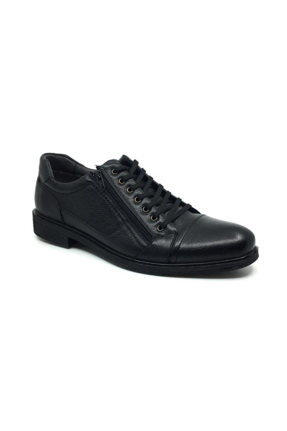 Taşpınar Erkek Siyah Kışlık Günlük Rahat Büyük Ayakkabı 1