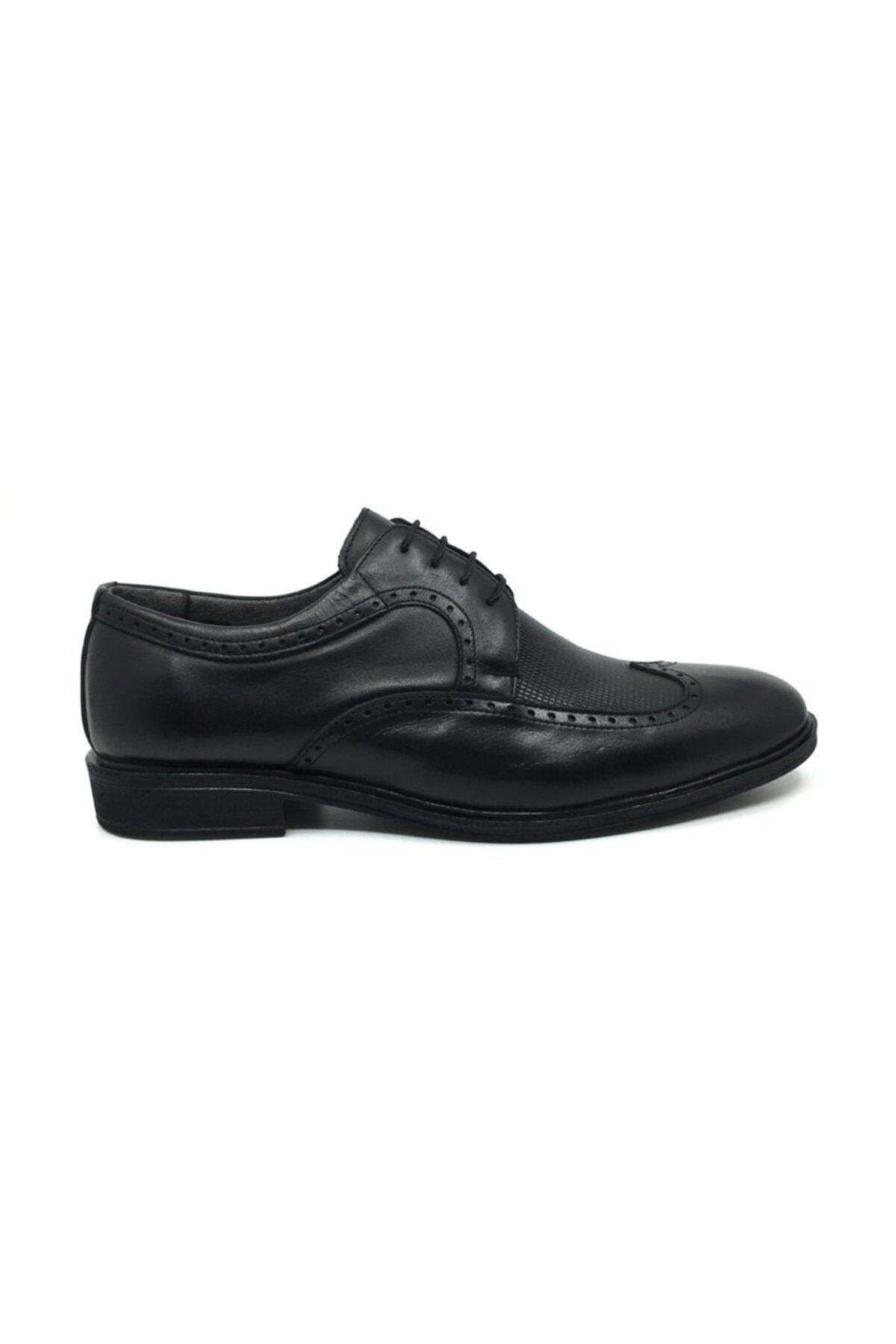 Taşpınar Erkek Siyah Klasik Ayakkabı 1