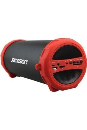 Jameson Kırmızı Taşınabilir Kırmızı Usbli Radyolu Bluetooth Hoparlör Bt1200