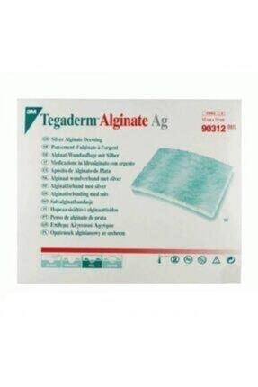 3M Tegaderm 90312 Alginate Ag Gümüşlü Yara Örtüsü 10cm X 10cm Antimikrobiyel