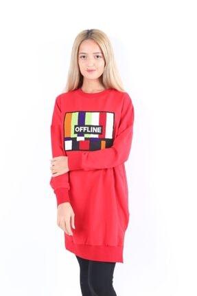 Loreen Kadın Kırmızı Tunik