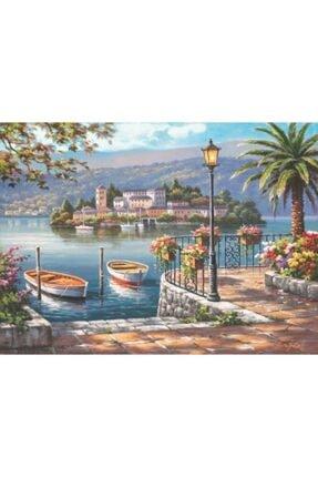 Anatolıan Porto Gölü Lago Del Porto 1000 Parça Puzzle - Yapboz