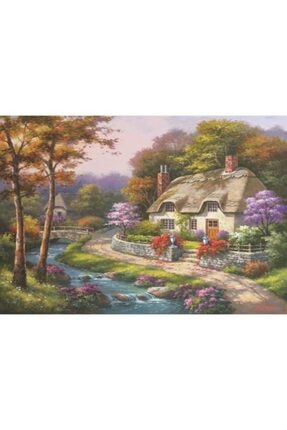 Anatolıan Konakta Ilkbahar Spring Cottage 500 Parça Puzzle - Yapboz