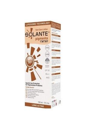 Solante Güneş Kremi Spf 50+ Pigmenta 150 ml