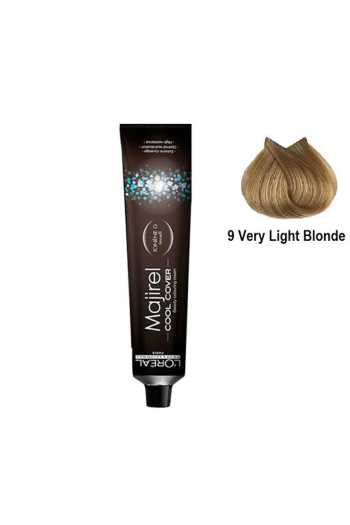 L'oreal Professionnel Majirel Cool Cover Cc 9 Very Light Blonde 50 ml 1
