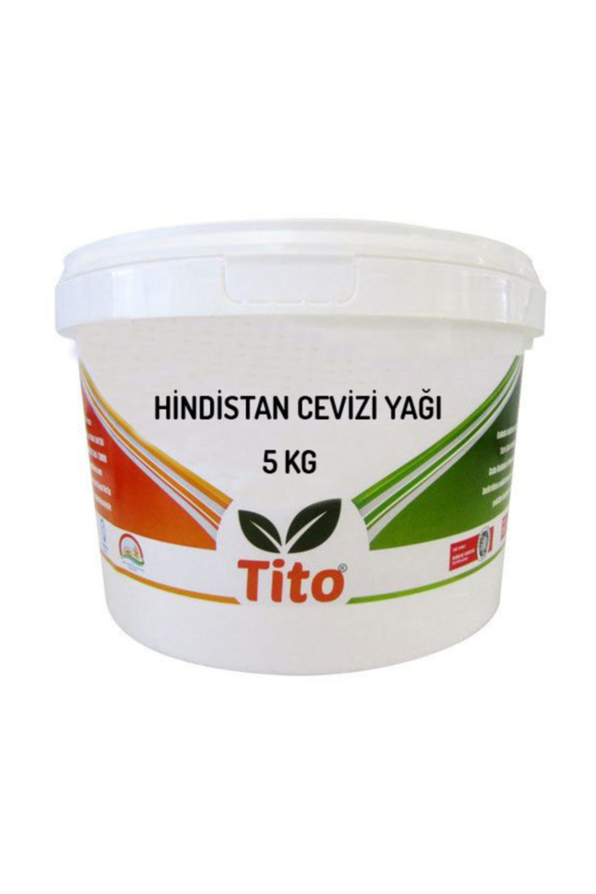 tito Deoderize Hindistan Cevizi Yağı 5 Kg 1
