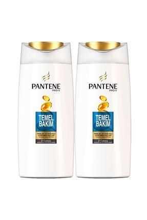 Pantene Temel Bakım Şampuan 700 ml x 2