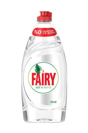 Fairy Saf ve Temiz Bulaşık Deterjanı Limon 650 ml