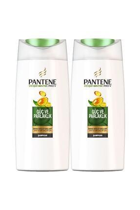 Pantene Doğal Sentez Güç ve Parlaklık Şampuan 2x700 ml