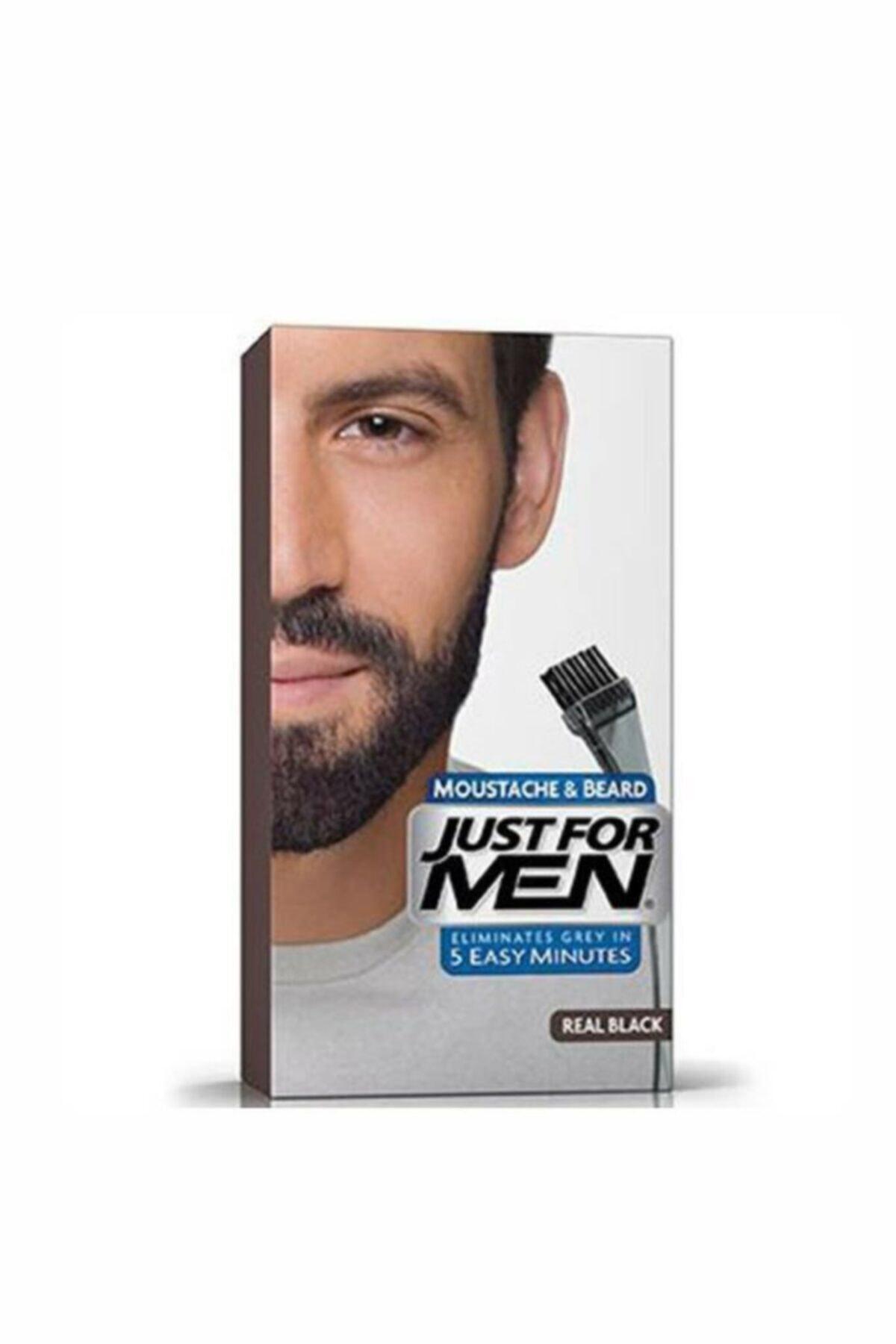 Just For Men Siyah Sakal ve Bıyık Boyası M-55 5010934002754 1