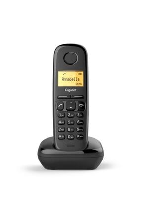 GIGASET A170 Kablosuz Lcd Ekranlı Telefon Siyah