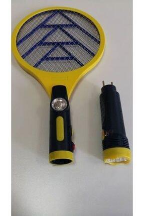 ELVERA Elektrikli Sinek Öldürücü Sarı Raket (şarjlı)