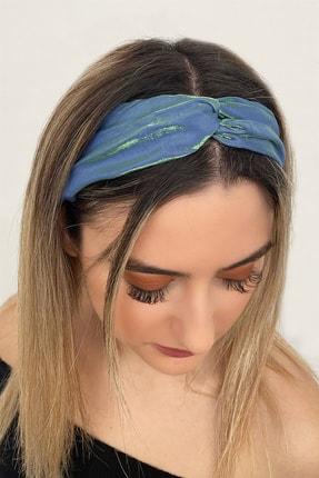 TAKIŞTIR Kadın Neon Yeşil Renk Saç Bandı