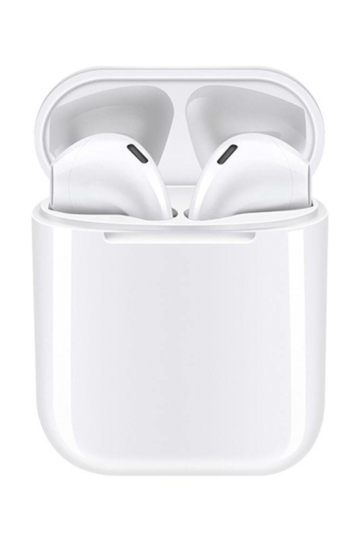Tws Airpods I12 Beyaz Iphone Android Universal Bluetooth Kulaklık Hd Ses Kalitesi 1