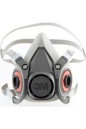 3M 6000 Serisi 6300 Yarım Yüz Gaz Maskesi ( L ) (beden (büyük Boy)(filtresiz)