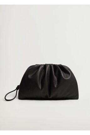 MANGO Woman Kadın Siyah Çanta G--