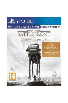 EA Games Ps4 Star Wars Battlefront Ultimate Edition Vr Uyumlu