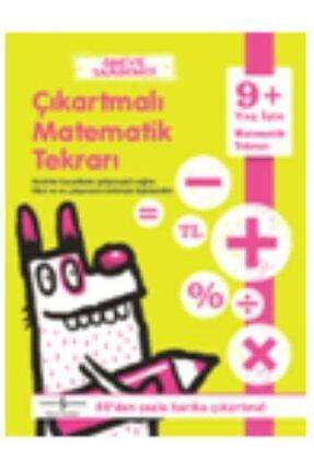 İş Bankası Kültür Yayınları Ödeve Yardımcı Çıkartmalı Matematik Tekrarı 9