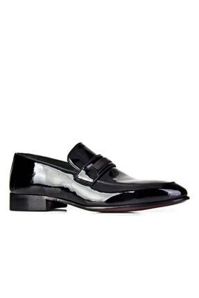 Cabani Erkek Siyah Hakiki Deri Klasik Ayakkabı 0YES22AY004428