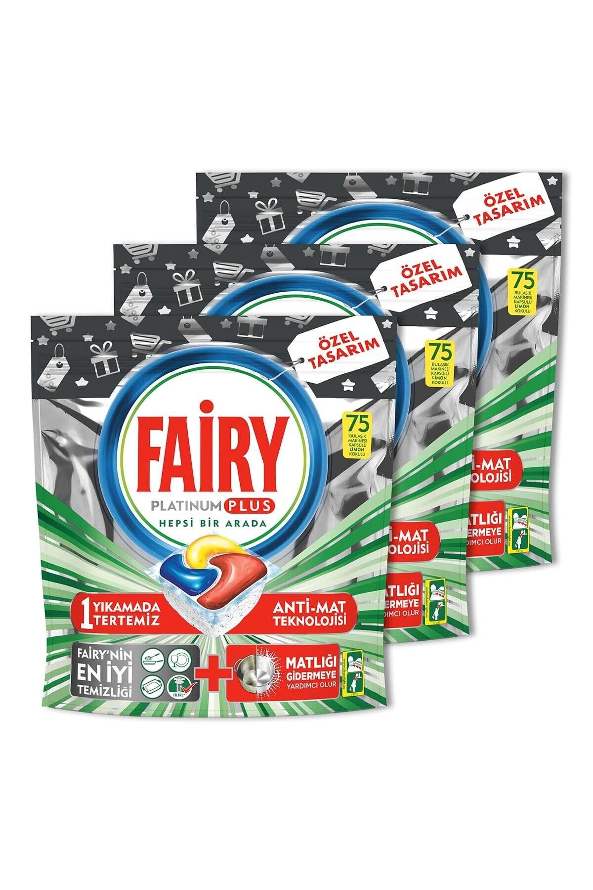 Fairy Platinum Plus 3*75 Yıkama Bulaşık Makinesi Kapsülü Özel Seri 2