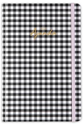 Matt Notebook Siyah Pötikare 2021 Günlük Ajanda