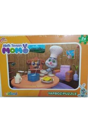 ADELAND Trt Çocuk Akıllı Tavşan Momo24 Parça Yapboz (puzzle)