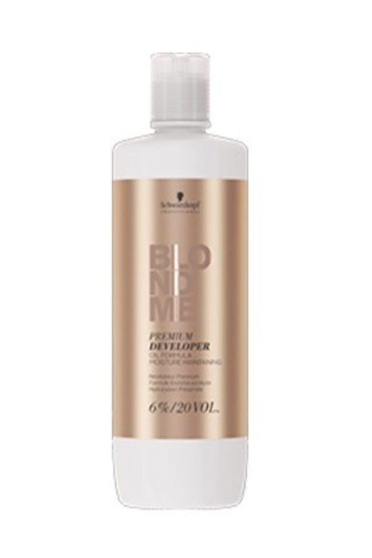 SCHWARZKOPF HAIR MASCARA Premium Developer Blondme %6 20 Volum Oksidan 1000 ml 1